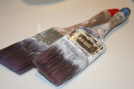 Professional paint brush.